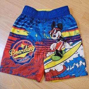 Mickey Mouse Swim Trunk, Size 3T